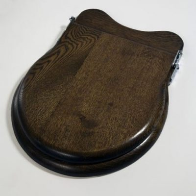roper rhodes traditional walnut toilet seat
