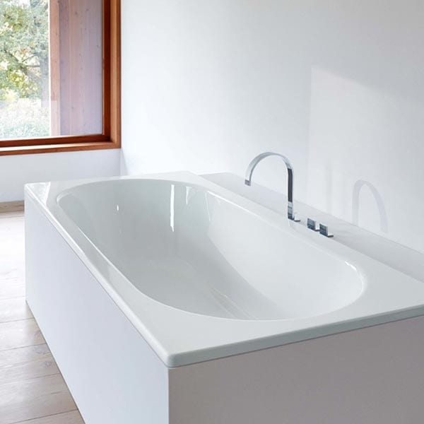Double Ended Steel Bath