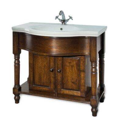 Traditional Bathroom Solid Oak Washstand and Basin