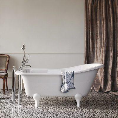 Burlington Buckingham Slipper 150cm Bath