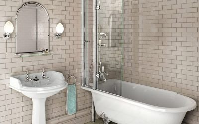Mixing the Modern & Traditional Style Bathroom