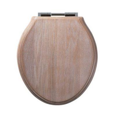 Greenwich Toilet Seat Limed Oak