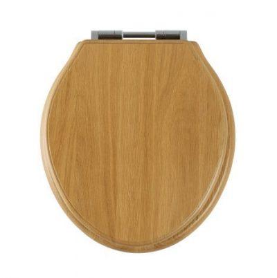 Roper Rhodes Greenwich Toilet Seat - Natural Oak