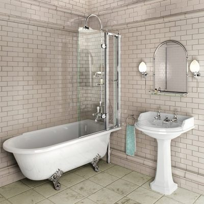 Burlington Hampton Showering 170cm Bath RH