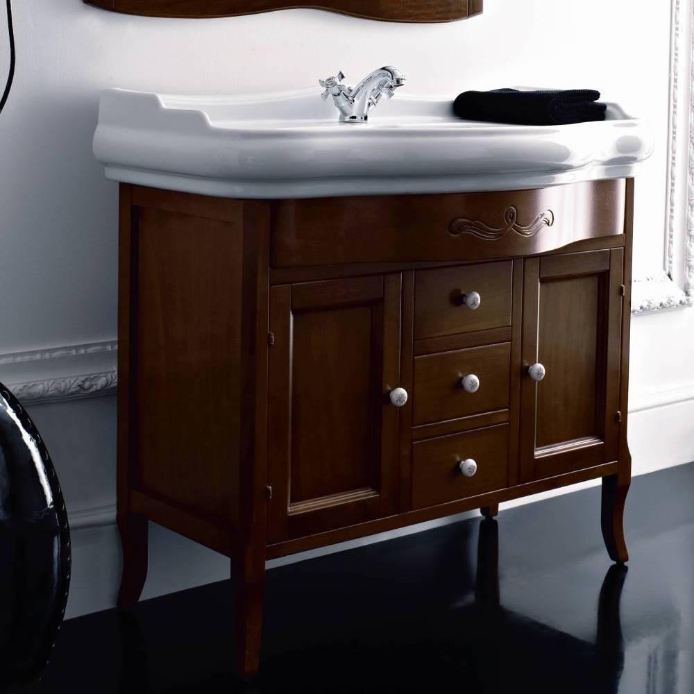 Retro 100cm Console Basin On Cabinet Old Fashioned Bathrooms