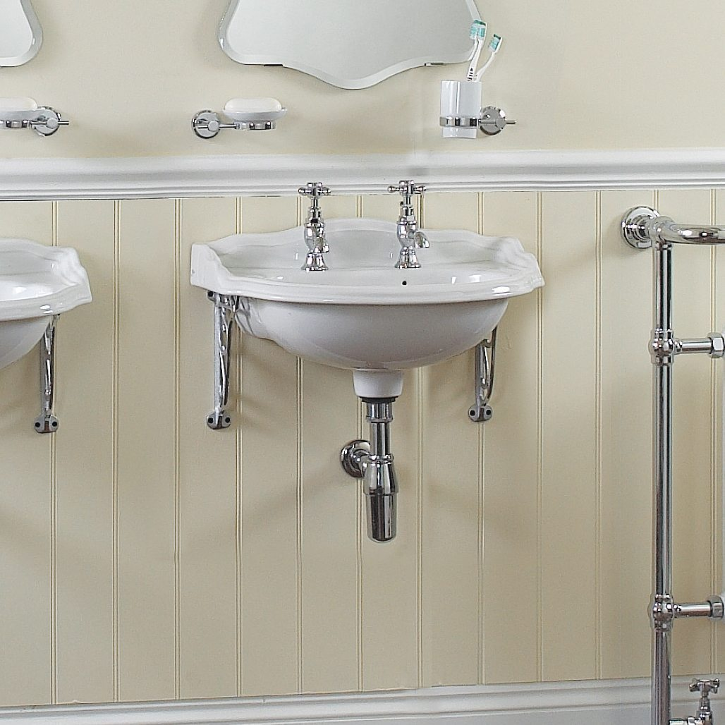 Traditional English Cloakroom Basin by Old Fashioned Bathrooms