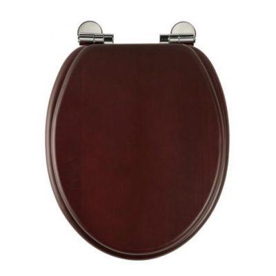 Roper Rhodes Traditional Oval Toilet Seat - Mahogany