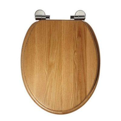 Roper Rhodes Traditional Oval Toilet Seat - Natural Oak