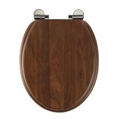 Roper Rhodes Traditional Oval Toilet Seat - Walnut
