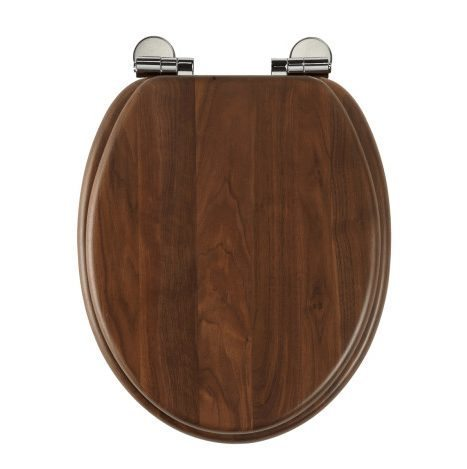 Roper Rhodes Traditional Oval Toilet Seat Walnut