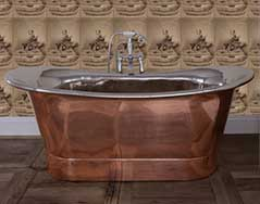 Copper Old Fashioned Baths