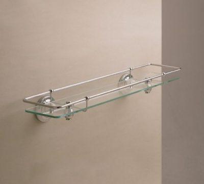 Edwards & Co Glass Gallery Shelf