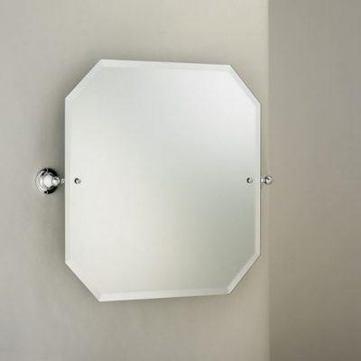 Edwards Co Octagonal Bathroom Mirror