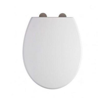 Elite Toilet Seat White Plastic