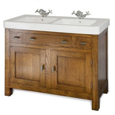 Foresters Shaker Double Basin And Cabinet