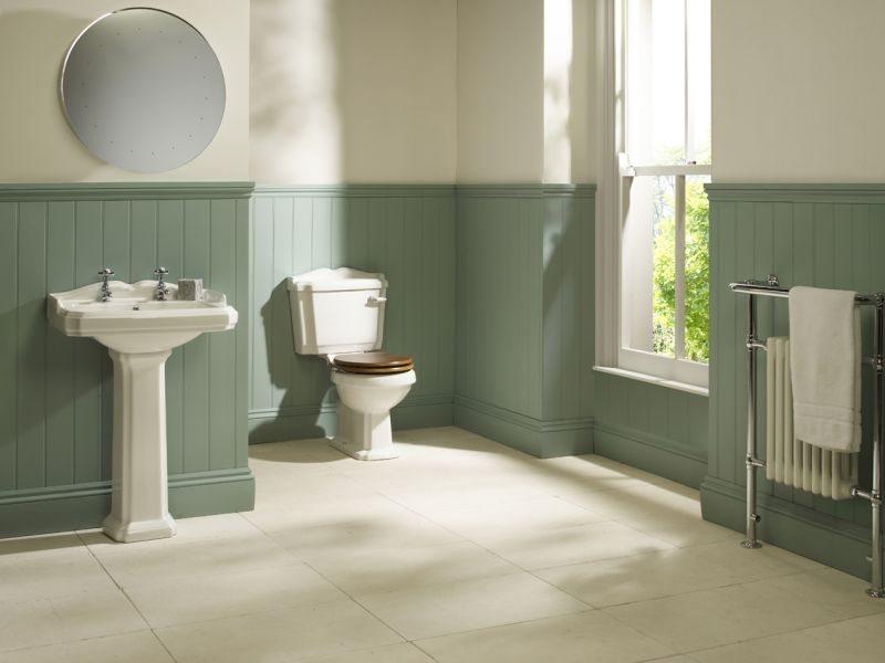 budget traditional bathroom suite