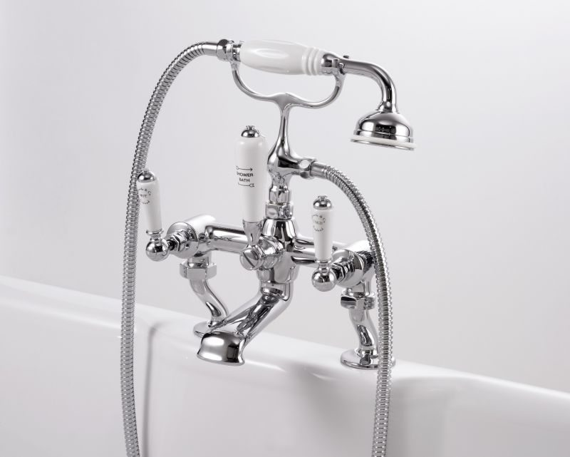 Edwards & Co Bath Shower Mixer - Old Fashioned Bathrooms