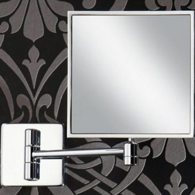 Traditional Square Swivel And Magnifying Mirror