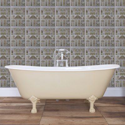 Berwick Cast Iron Bath 1720mm