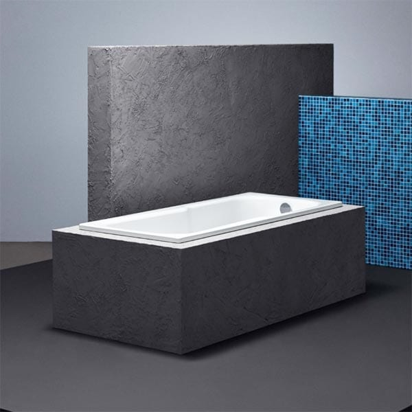 Bette steel shower bath