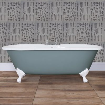 Bisley Cast Iron Double Ended Bath 1700mm