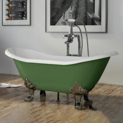 Cast Iron Raised Double Ended Bath 1560mm