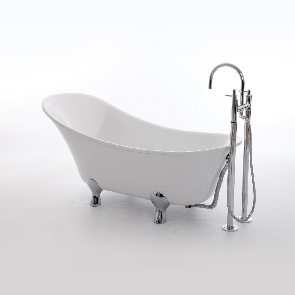 floor mounted bath tap example