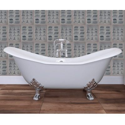 Large Raised Double Ended Bath 1825