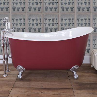 Lyon 1370 Cast Iron Deep Tub Bath