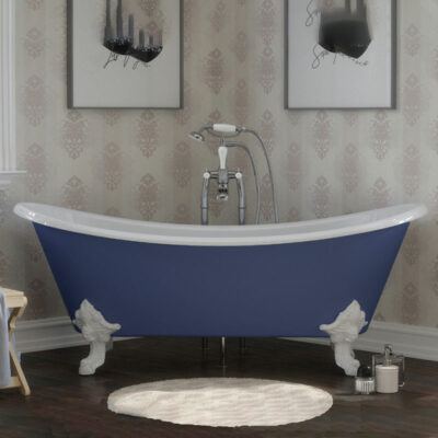 Cast Iron Orford Raised Double Ended Bath