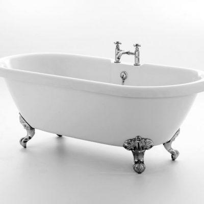 Kensington Acrylic Roll Top Bath