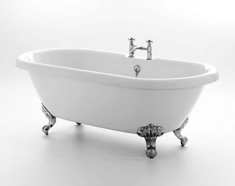 Traditional Roll Top Double Ended Bath available in 3 sizes
