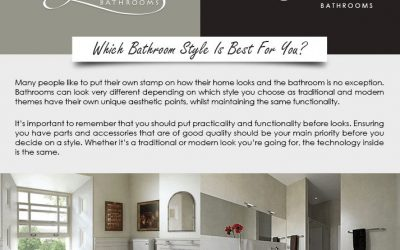 Old Fashioned Bathrooms vs Modern Bathrooms