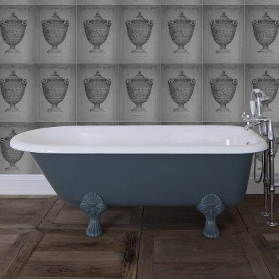 Cambridge Cast Iron Single Ended Bath 1670mm