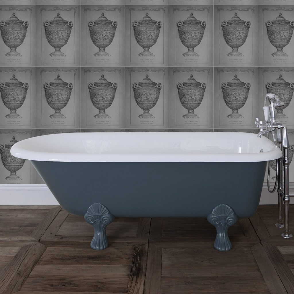 Traditional Cast Iron Single Ended Bath