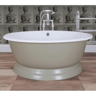 Cast Iron Bath The Round Tub