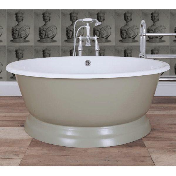 Cast Iron Wash Tub : Home / Baths / Cast Iron Round Tub Bath
