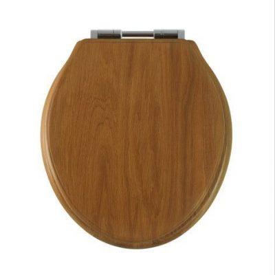 Greenwich toilet seat, honey oak