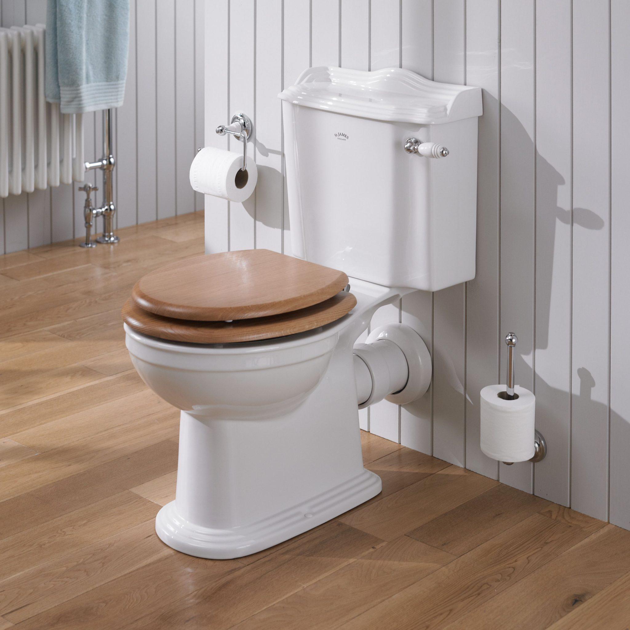 St James Hampton Close Coupled Toilet