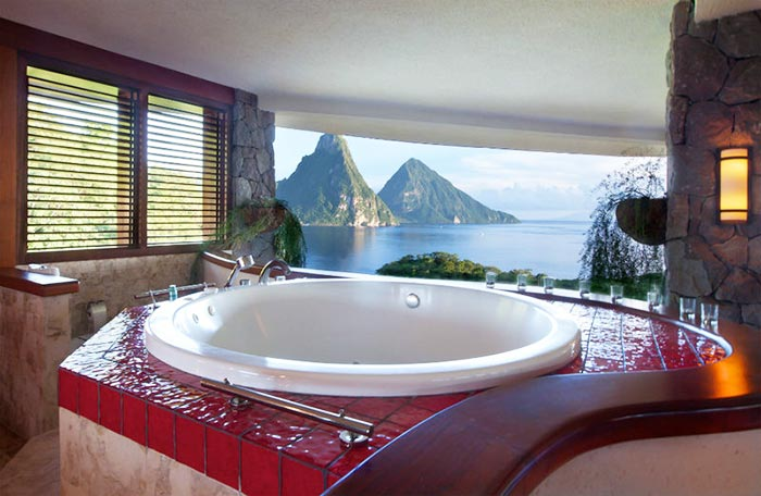 Bathroom with a view. B2B website