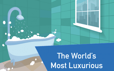 World's Most Luxurious Bathrooms | Infographic
