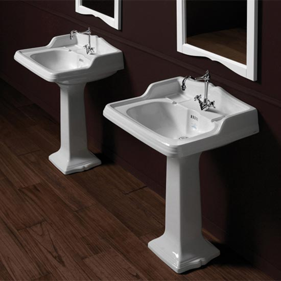 ... England Suffolk Suite / Old England Suffolk 73cm Basin and Pedestal