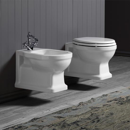 Old England Colchester Wall Hung Bidet | Old Fashioned ...