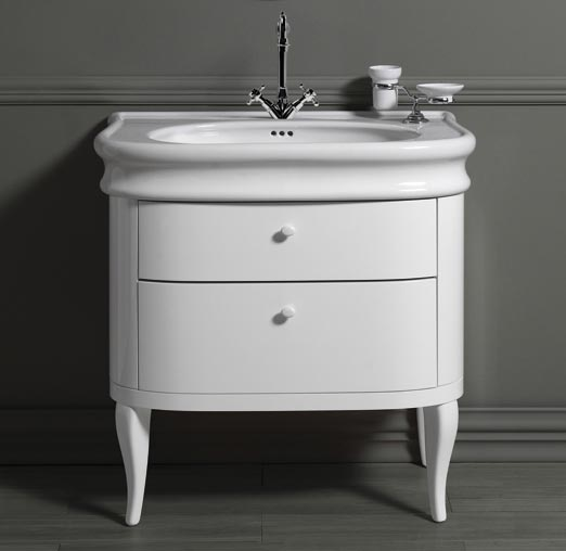 Old England Cambridge 90cm Basin And Cabinet Old Fashioned Bathrooms