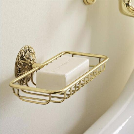 Sbordoni Flora Small Shower / Bath Rack | Old Fashioned Bathrooms