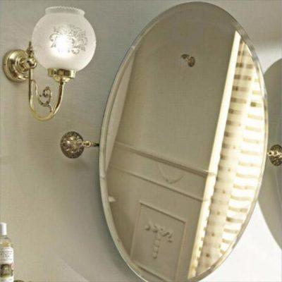 Sbordoni Tilting Oval Bevelled Mirror