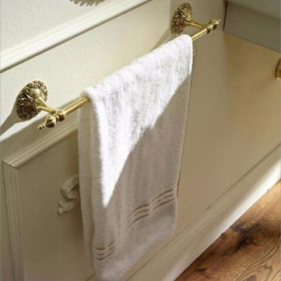 Wall Mounted Single Towel Rail Holder