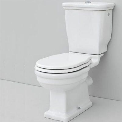 Fino Close Coupled Toilet Pan