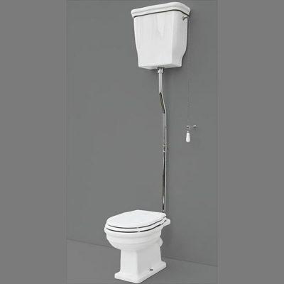 Fino High Level Toilet Pan