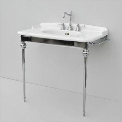 92cm Basin on Chrome Stand